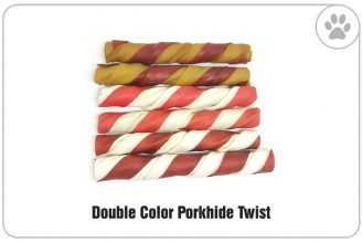 Double-Color-Porkhide-Twist